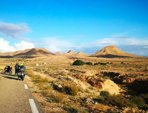 Viaggio in moto Tunisia Aprile 2021