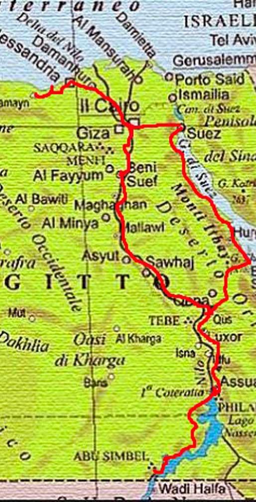 map-Egitto