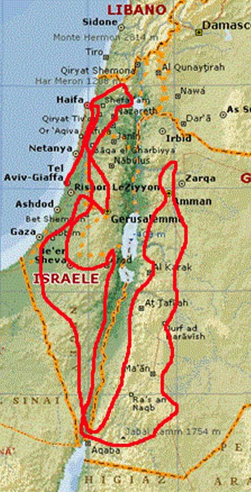 map-Israele